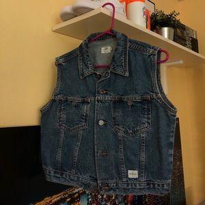 Vintage 90's Calvin Klein Jean vest